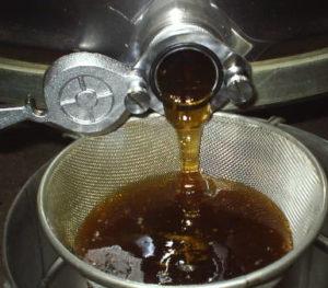 Honig frisch aus der Schleuder